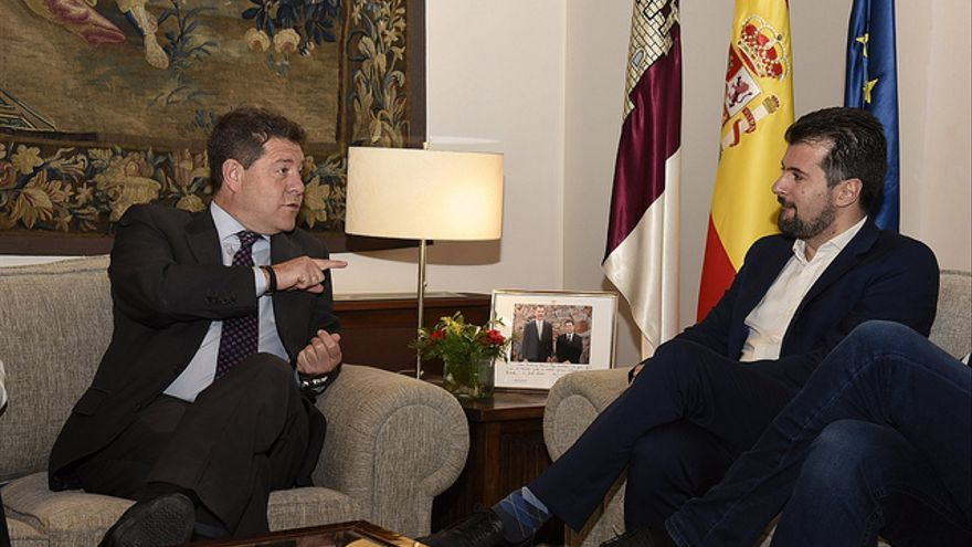 Emiliano García-Page y Luis Tudanca FOTO: JCCM