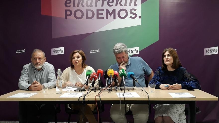 """Diputados vascos de Unidas Podemos participarán en la """"contracumbre"""" del G7 para defender que """"otro modelo es posible"""""""