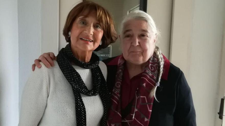 """Dolores Cabra y Amparo Sánchez lamentan que Rajoy """"ignore"""" la Ley de Memoria Histórica."""