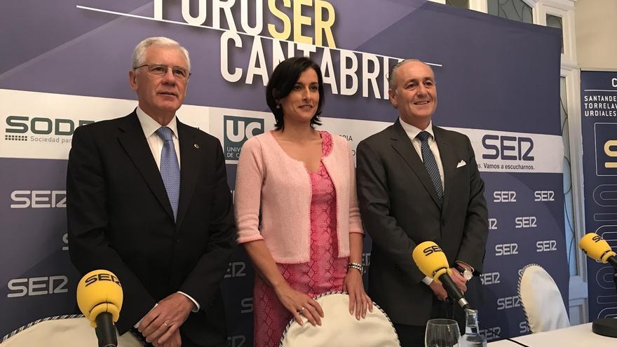 """La alcaldesa de Santander cree que a la ciudad le """"iría mejor"""" si el Gobierno la viese como parte de Cantabria"""