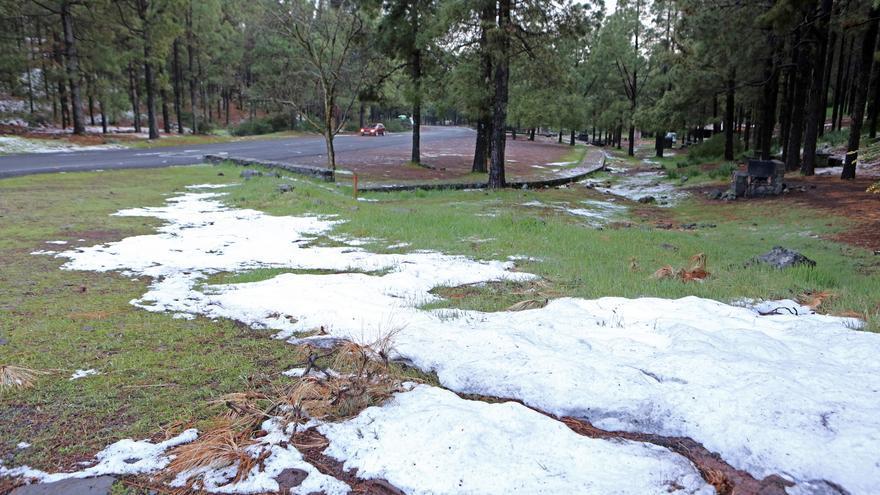 Nieve en Los Llanos de La Pez (ALEJANDRO RAMOS)