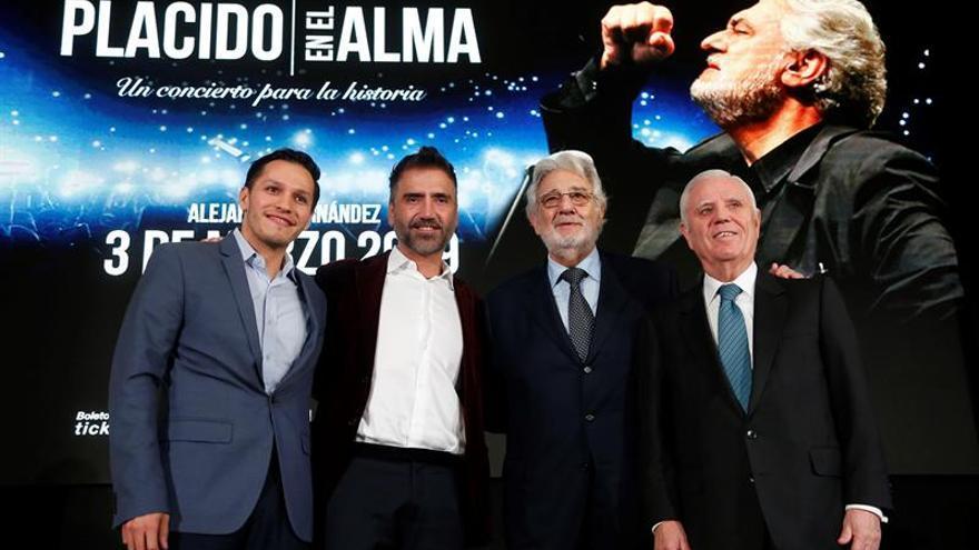 Plácido Domingo anuncia concierto para proyectos educativos en México