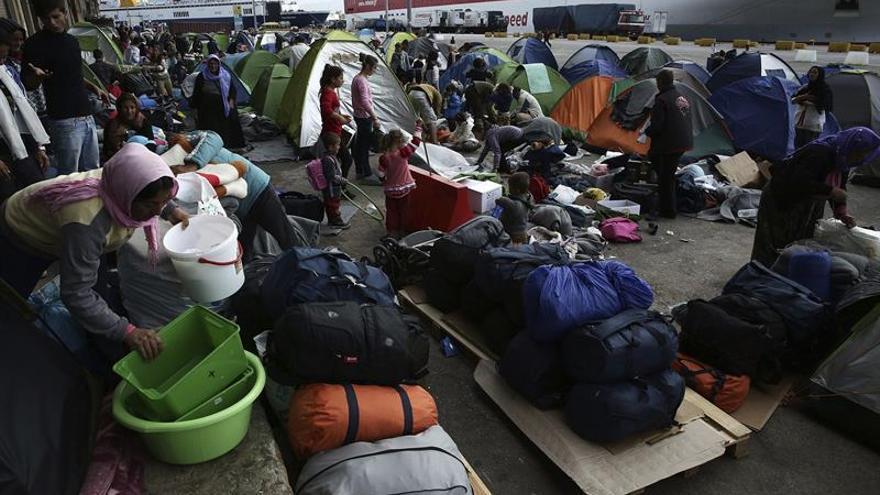 Grecia deportó hoy a 72 inmigrantes a Turquía, en virtud del acuerdo bilateral
