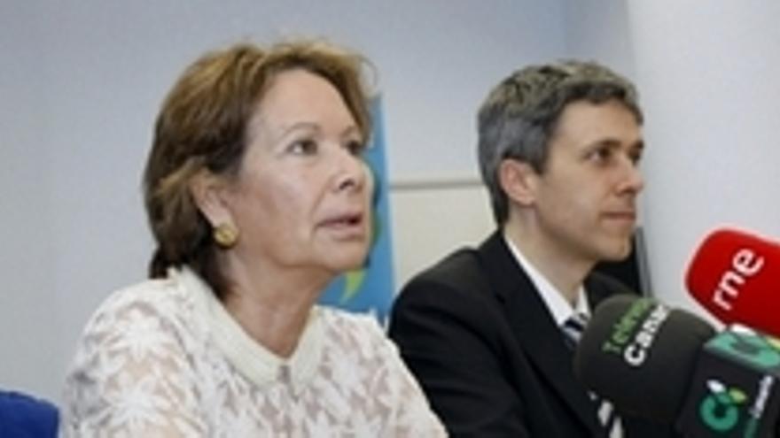 Paquita Luengo y Ricardo Guerrero.
