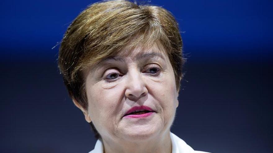 La directora gerente del FMI, Kristalina Georgieva