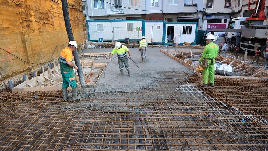 Avanza la construcción del nuevo edificio administrativo de la calle La Paz
