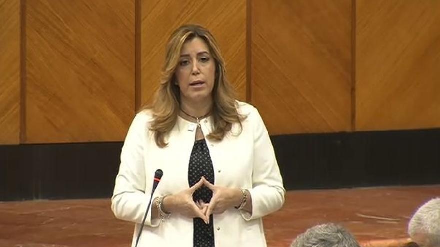 Susana Díaz llevará en febrero al Parlamento las leyes de servicios sociales y atención a discapacidad