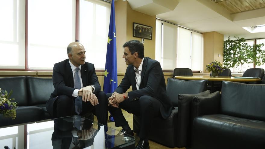 Moscovici pide a Sánchez que reflexione sobre el CETA porque es un tratado bueno y progresista