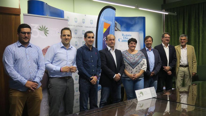 Presentación de la Regata del Día de Canarias de Barquillos de Vela Latina en La Palma.