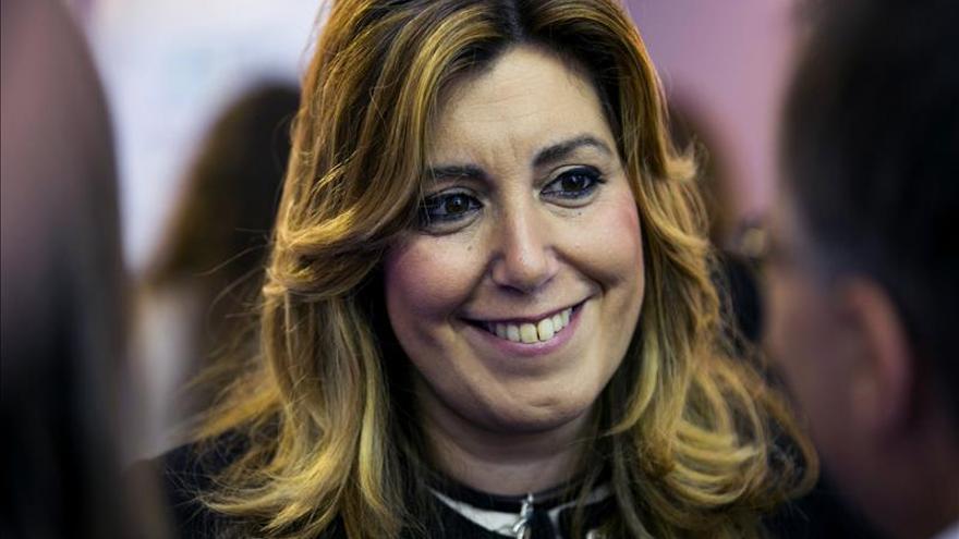 Susana Díaz reclama un pacto de Estado para luchar contra la violencia machista