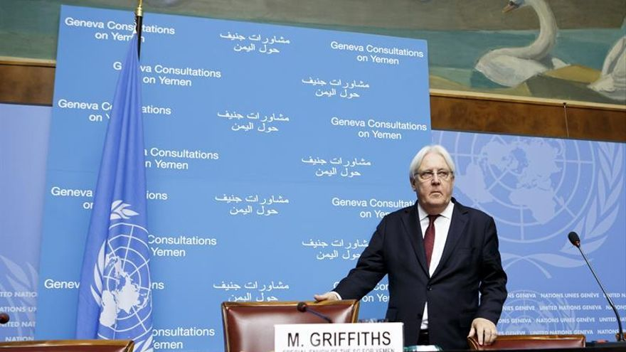 El enviado de la ONU llega al Yemen tras el fracaso de consultas de paz en Ginebra