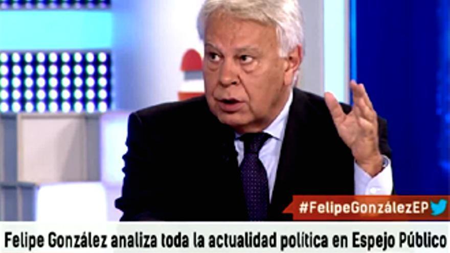 Felipe González desvela a Susanna Griso lo que le molesta de Pablo Iglesias