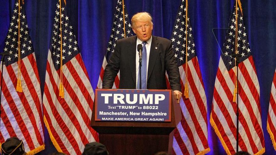 Trump trata de ganarse la luz verde del partido con Pence de vicepresidente