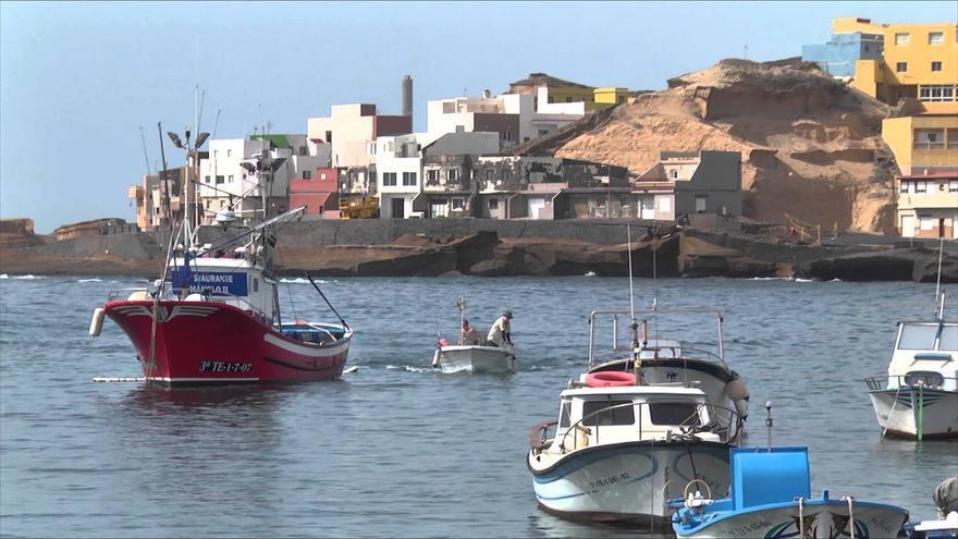 Zona costera de Tajao, en el municipio de Arico