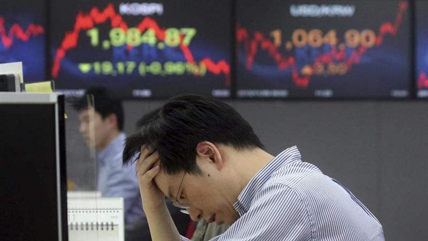 Seúl abre con una caída del 0,65 por ciento hasta las 2.055,27 unidades