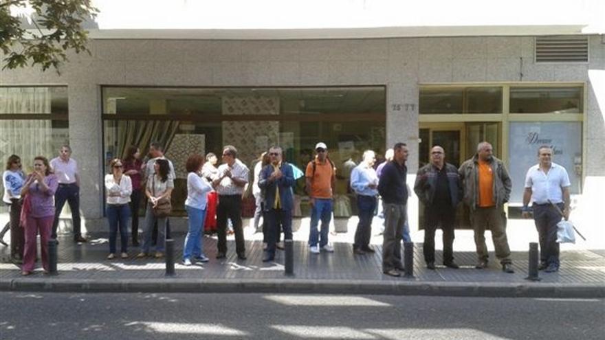 De protestas de funcionarios en LPGC #8