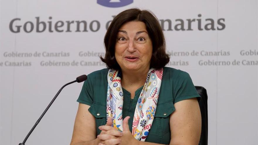 La consejera de Educación, Universidades, Cultura y Deportes del Gobierno de Canarias, María José Guerra Palmero, presentó este jueves los datos correspondientes al inicio del curso escolar 2019-2020, que comenzará en Canarias el 9 de septiembre.