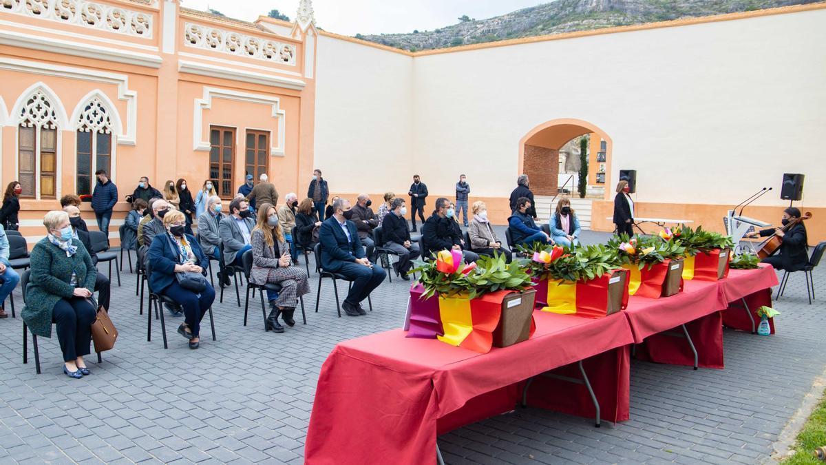 Imagen del acto celebrado en Cullera.