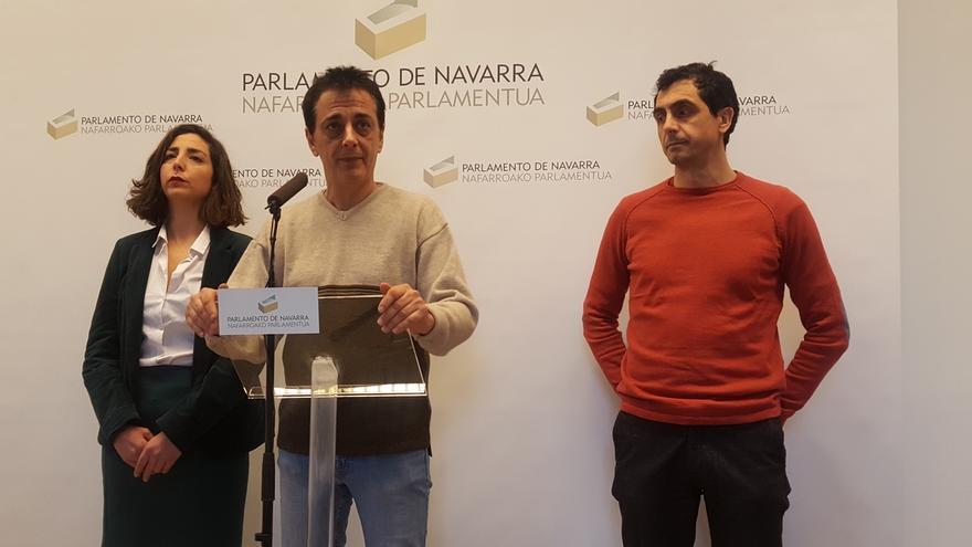 """Los críticos de Podemos en Navarra afirman que en el grupo parlamentario """"no sobra nadie"""""""