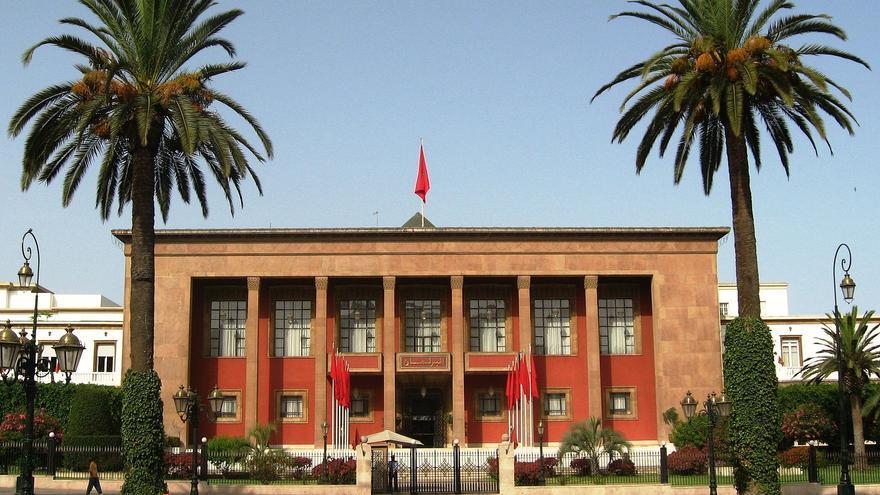 Parlamento de Marruecos, en Rabat.
