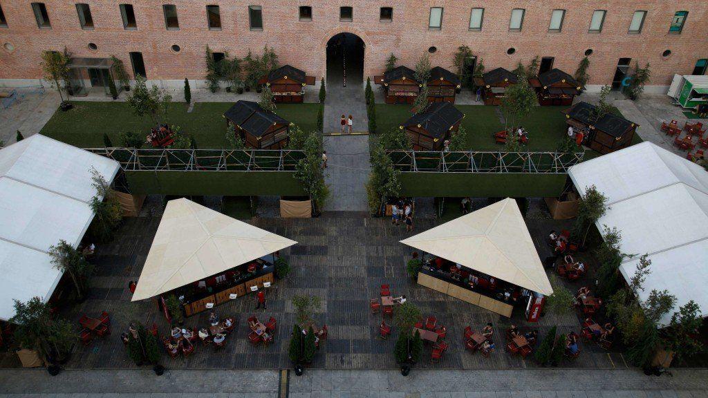 Imagen cenital del Cine Garden Conde Duque | SOMOS MALASAÑA