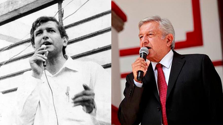 López Obrador en los 90 y López Obrador en 2019