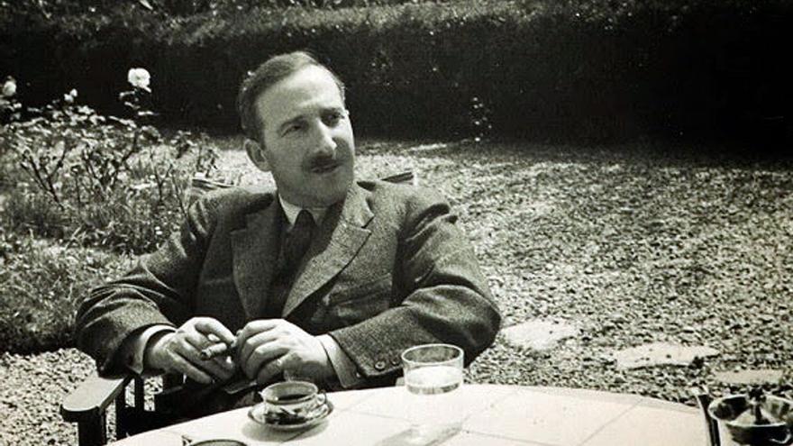 El autor austríaco Stefan Zweig