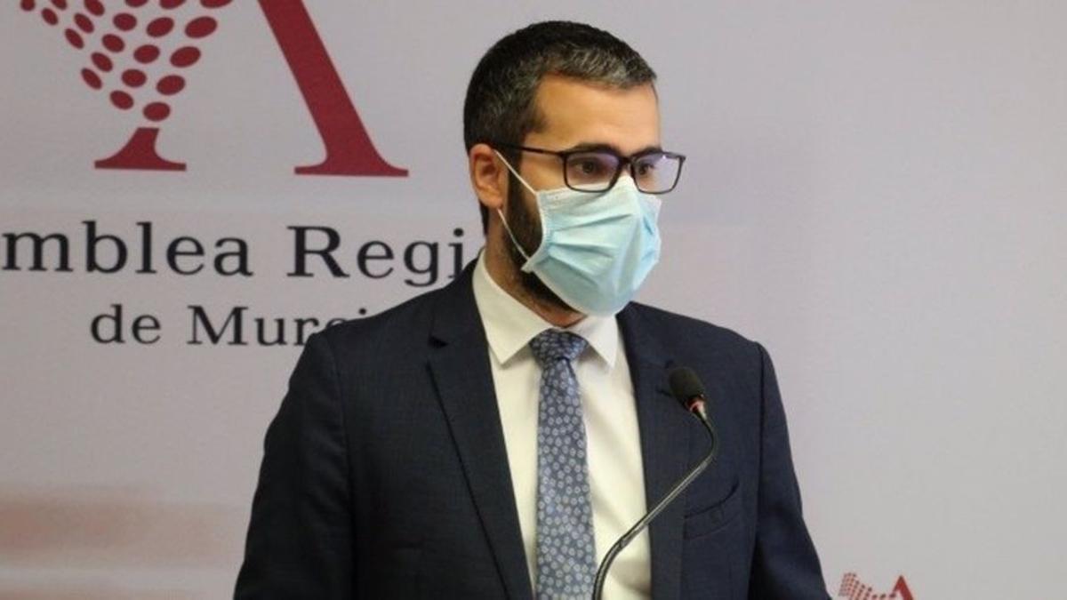 Francisco Lucas Ayala, portavoz del PSOE en Murcia