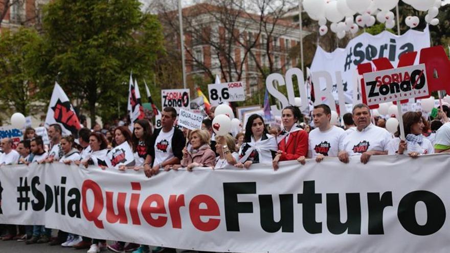 Arranca en Madrid la multitudinaria marcha de la 'España Vaciada'
