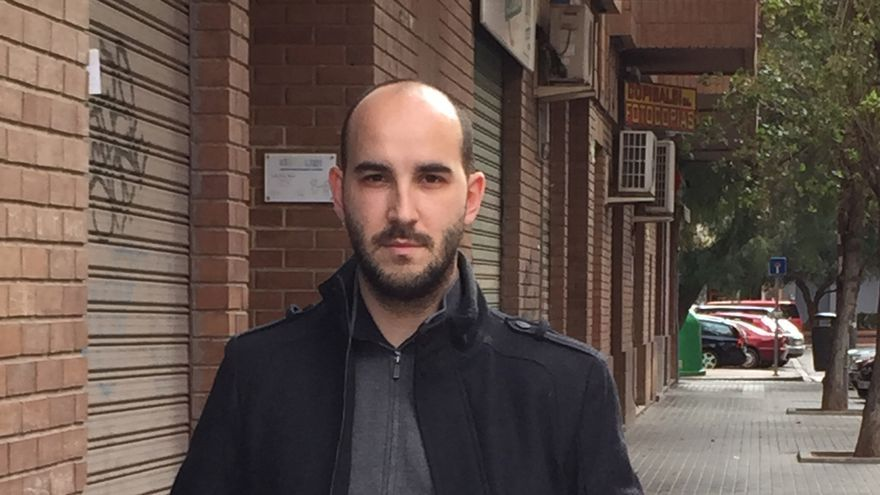 El periodista Borja Ventura, autor de 'Guztiak'.