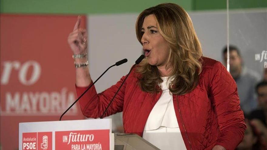 Díaz acusa a Iglesias de usar Andalucía como coartada para abrir en canal a España