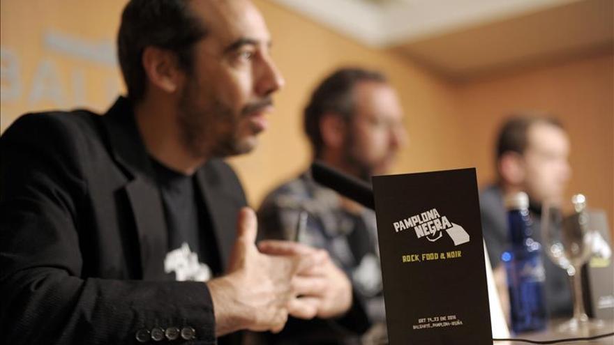 Pamplona Negra vuelve a reunir a escritores y público en su segunda edición