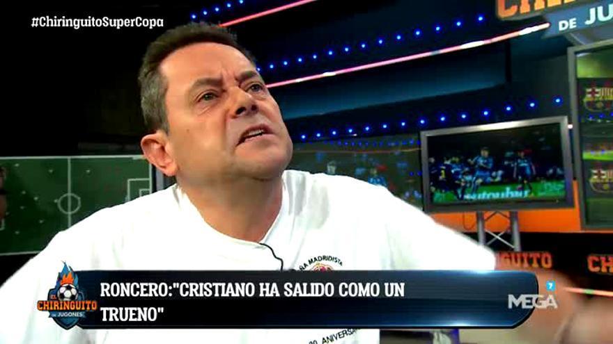 Tomás Roncero en El Chiringuito de Jugones