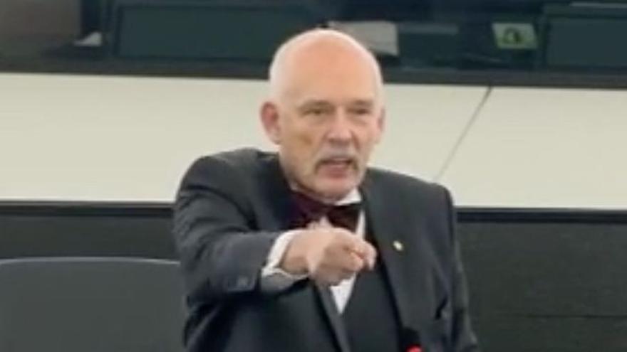 Janusz Korwin-Mikke, eurodiputado polaco