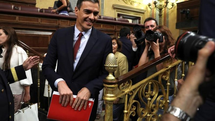 Sánchez plantea 12 pactos de Estado, 3 reformas constitucionales y 25 leyes