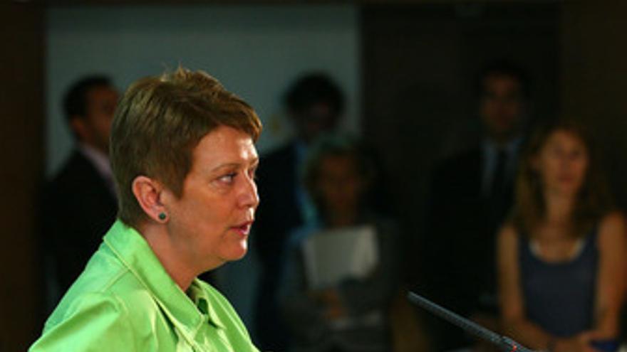 Consuelo Rumí informa sobre la huelga de funcionarios