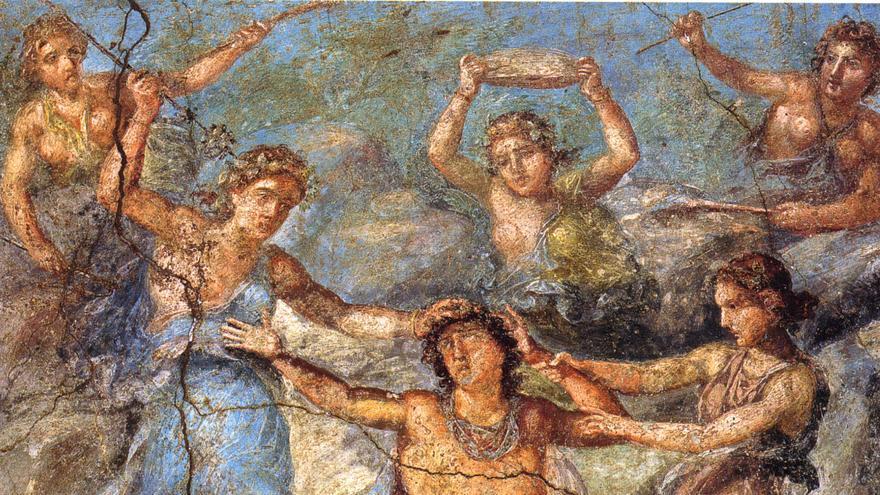Muerte de Penteo - Pompeya (Italia)