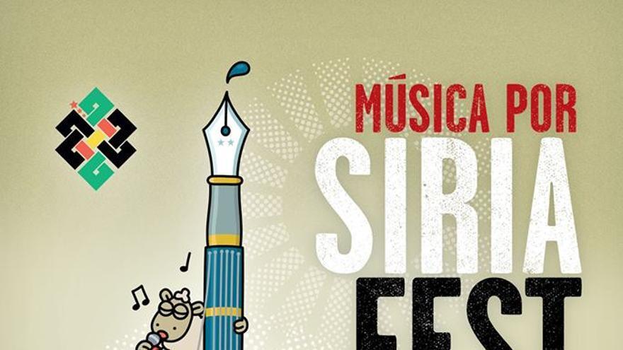 Cartel 'Música por Siria Fest'