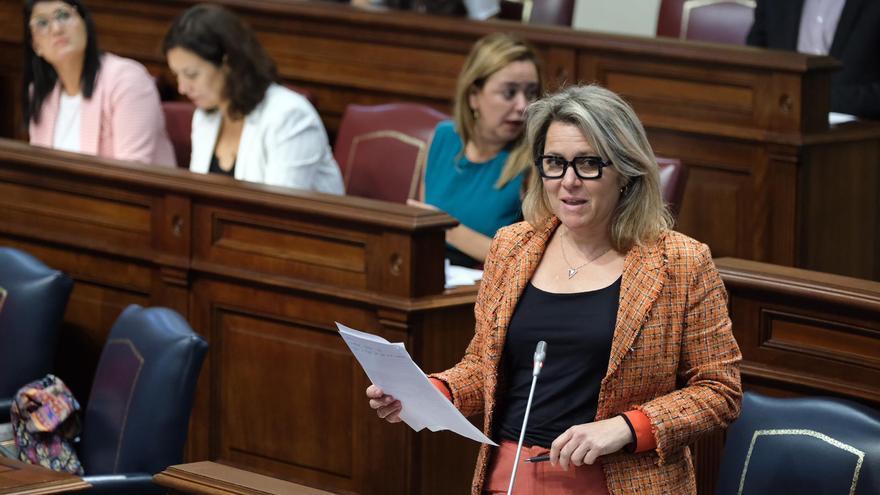 Alicia Vanoostende, consejera de Agricultura, Pesca y Alimentación del Gobierno de Canarias.