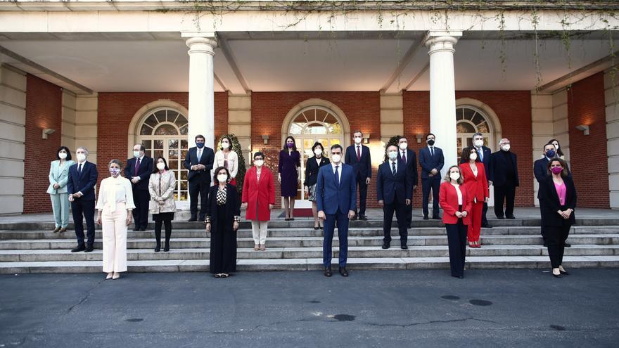 Foto de familia del Consejo de Ministros