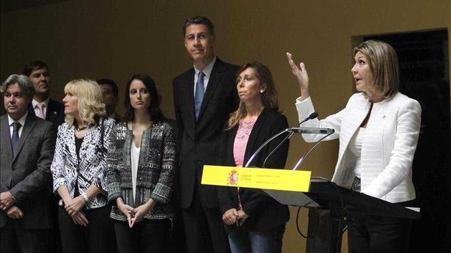 """Albiol acusa al Govern de """"expulsar"""" de la Diada a los no independentistas"""