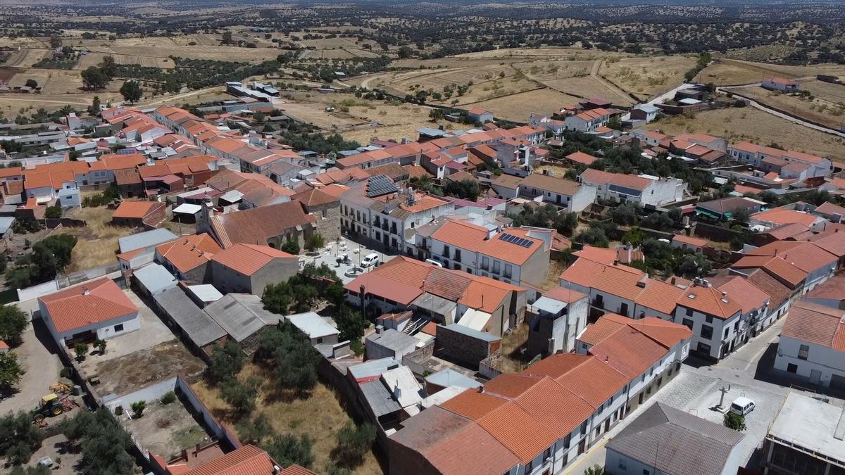 Vista aérea de El Guijo