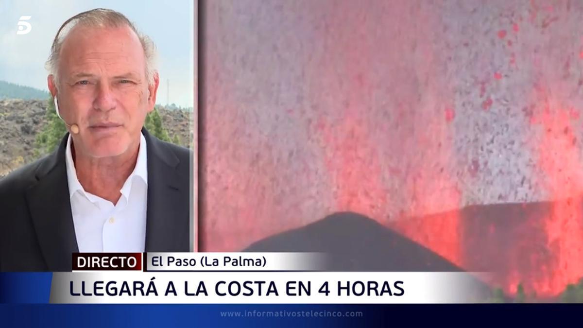 Pedro Piqueras, en directo desde La Palma