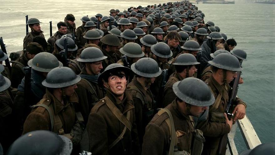"""Nolan lleva el cine bélico a una épica dimensión intimista en """"Dunkirk"""""""