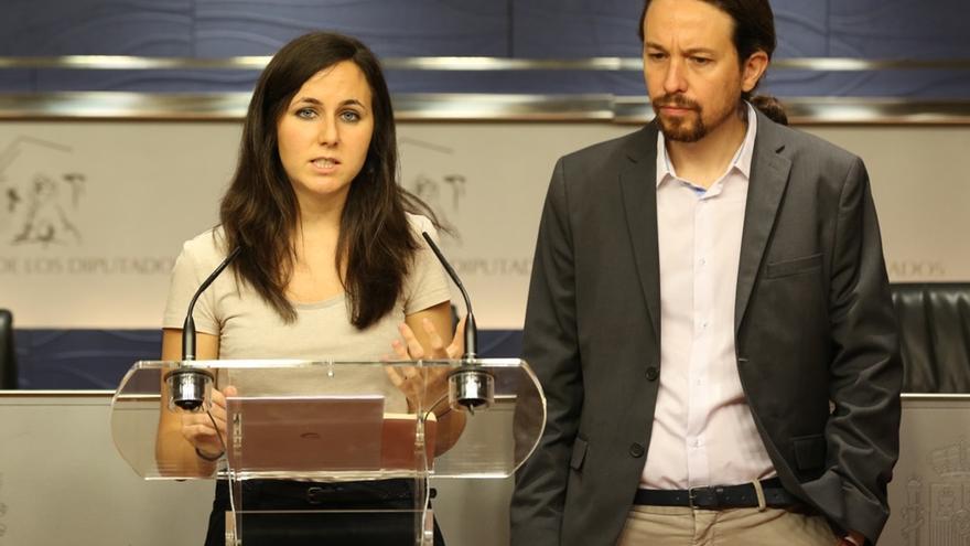 """Belarra dice que Iglesias y Montero son difíciles de sustituir y apuesta por el """"trabajo en equipo"""" en su ausencia"""