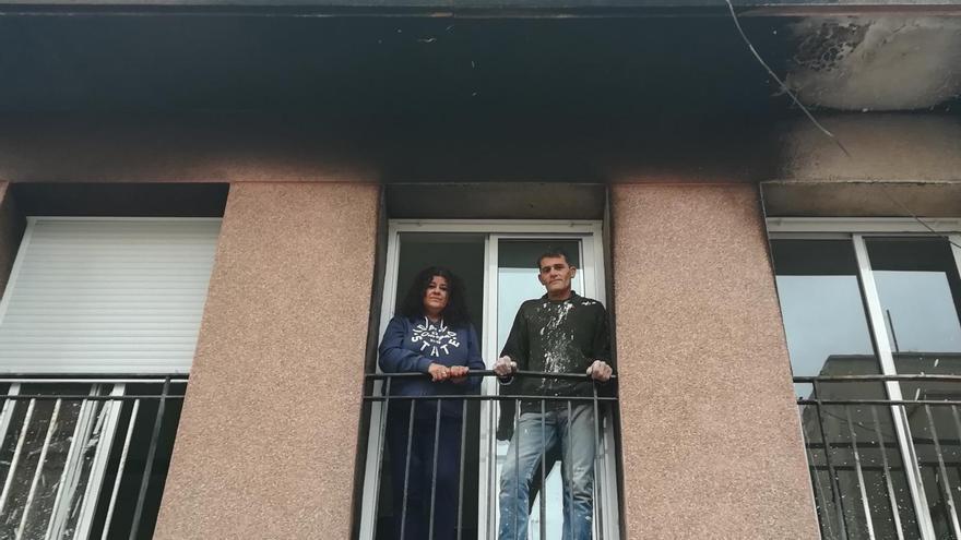Marisol y Juanjo en su casa