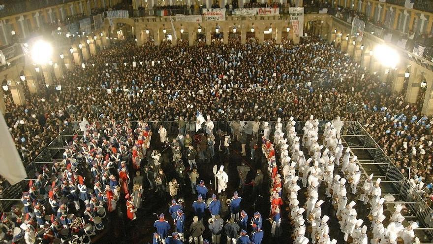 Un total de 15.468 personas participarán en 127 tamborradas, tres de ellas nuevas, el día de San Sebastián