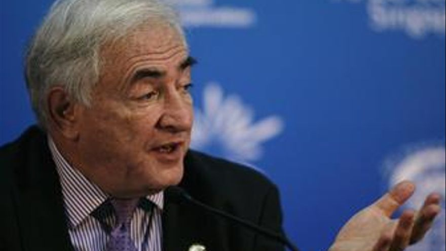 Director general del FMI, Strauss-Kahn