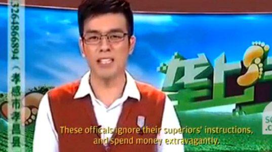 Sustituido en directo en TV por airear la corrupción