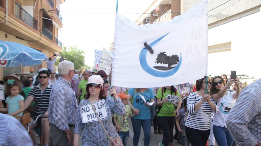Manifestación, el pasado 21 de mayo de 2016